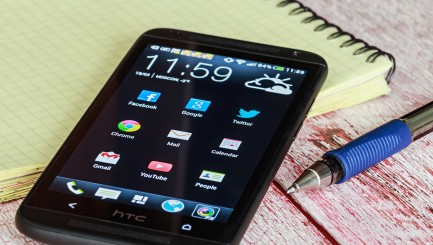 Htc Mobile Phone With Android Applications